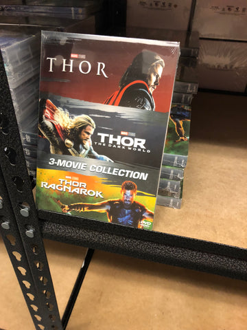Thor DVD Series Movies 1,2 & 3 Set