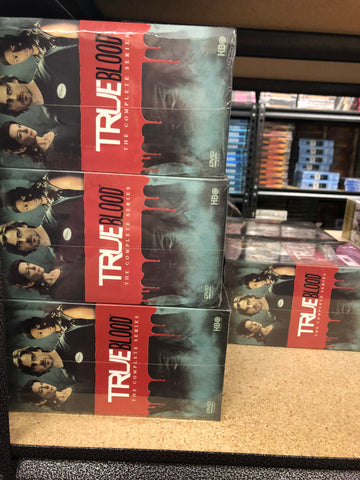 True Blood DVD Series Complete Box Set