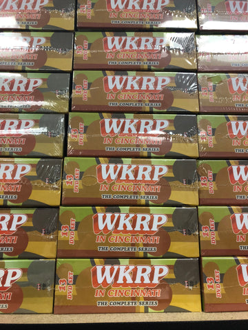 WKRP in Cincinnatti DVD Series Complete Box Set