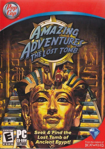 Amazing Adventures: The Lost Tomb - PC Blaze DVDs DVDs & Blu-ray Discs > DVDs