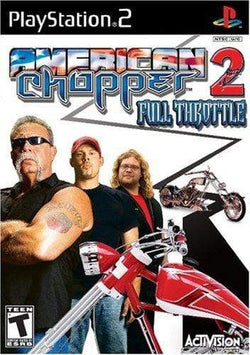 American Chopper 2: Full Throttle Playstation 2 Blaze DVDs