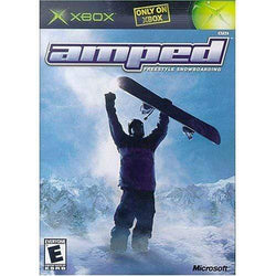Amped: Freestyle Snowboarding Xbox Blaze DVDs