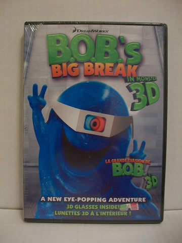 B.O.B.'s Big Break Bob's Big Break Blaze DVDs DVDs & Blu-ray Discs > DVDs