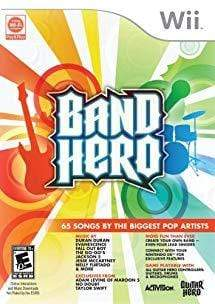 Band Hero Nintendo Wii Blaze DVDs