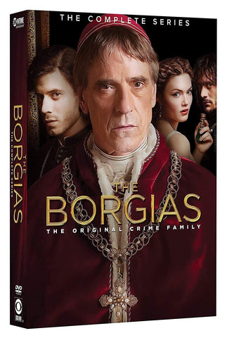 Borgias Complete Series On DVD Paramount Home Entertainment DVDs & Blu-ray Discs