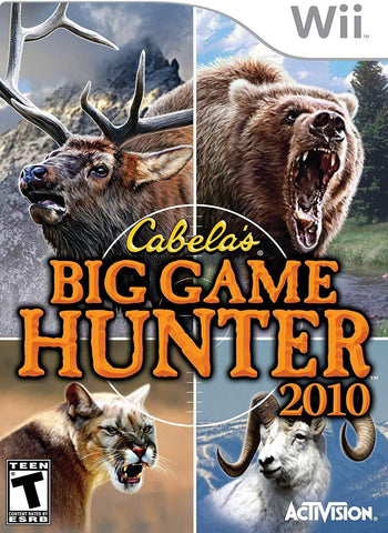 Cabela's Big Game Hunter 2010 - Nintendo Wii Blaze DVDs