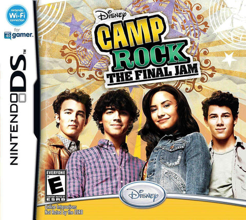 Camp Rock The Final Jam for Nintendo DS Nintendo Nintendo DS Game