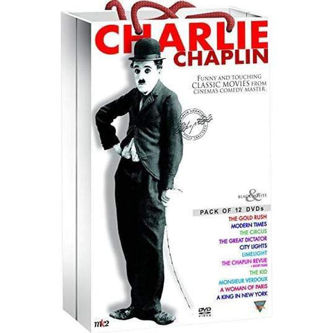 Charlie Chaplin Classic Collection (DVD) Echo Bridge DVDs & Blu-ray Discs