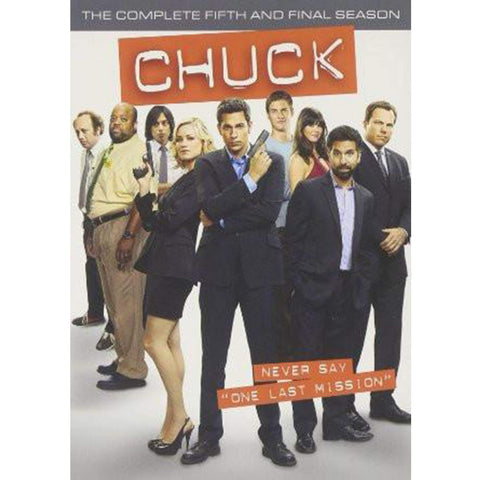 Chuck the Complete Series On DVD Warner Brothers DVDs & Blu-ray Discs