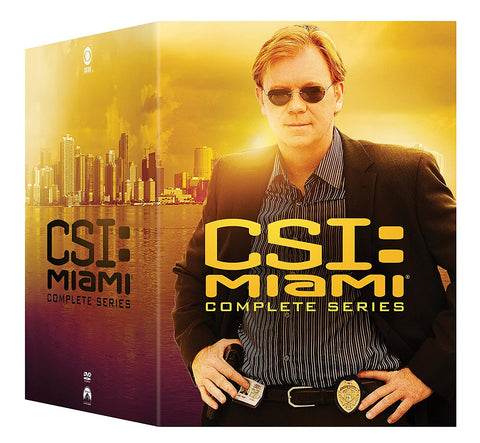 CSI Miami Complete Series On DVD Paramount Home Entertainment DVDs & Blu-ray Discs
