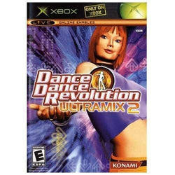 Dance Dance Revolution Ultramix 2 Xbox Blaze DVDs