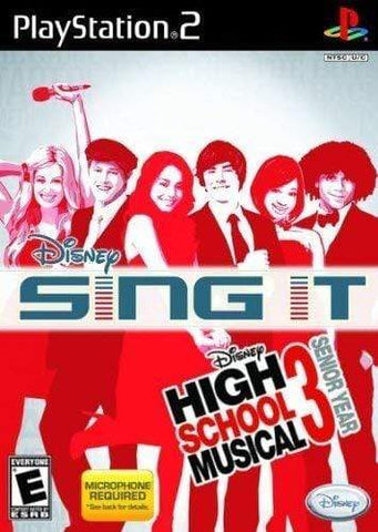 Disney Sing It High School Musical 3 Playstation 2 Blaze DVDs