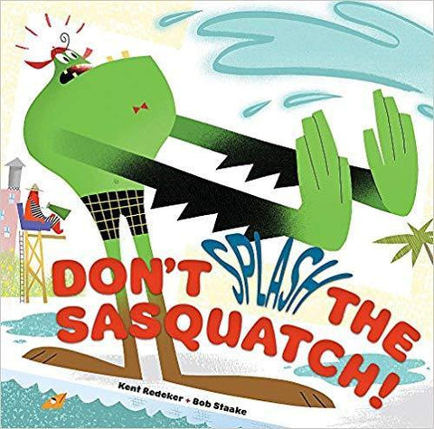 Don't Splash the Sasquatch! (A Sasquatch Picture Book) Hardcover Blaze DVDs DVDs & Blu-ray Discs > DVDs