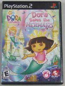 Dora the Explorer: Dora Saves the Mermaids - Playstation 2 Blaze DVDs