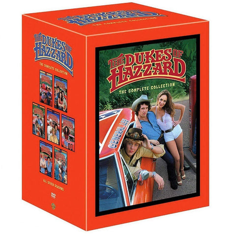 Dukes of Hazzard DVD Complete Collection Seasons 1-7 Warner Brothers DVDs & Blu-ray Discs > DVDs > Box Sets