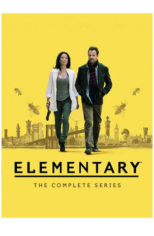 Elementary DVD Seasons 1-7 Set Paramount Home Entertainment DVDs & Blu-ray Discs > DVDs