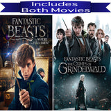 Fantastic Beasts 1 & 2 Movies on DVD Warner Brothers DVDs & Blu-ray Discs > DVDs