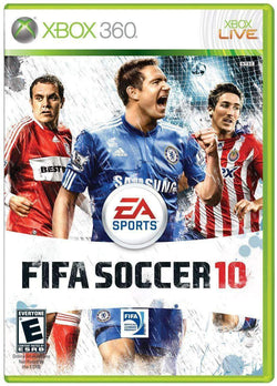 Fifa Soccer 10 for Xbox 360 Microsoft Xbox 360 Game