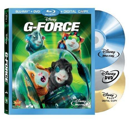 G-Force on Blu-Ray/DVD/Digital Copy Blaze DVDs DVDs & Blu-ray Discs > Blu-ray Discs