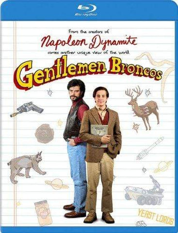 Gentlemen Broncos on Blu-Ray Blaze DVDs