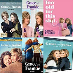 Grace & Frankie TV Series Seasons 1-6 DVD Set Lionsgate DVDs & Blu-ray Discs > DVDs
