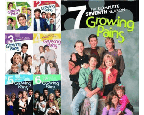 Growing Pains TV Series Seasons 1-7 DVD Set Warner Brothers DVDs & Blu-ray Discs > DVDs