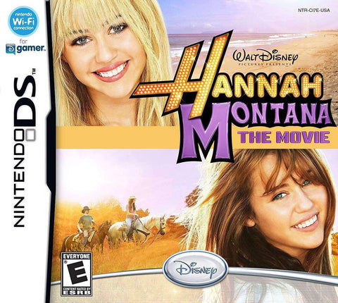 Hannah Montana the Movie for Nintendo DS Nintendo Nintendo DS Game