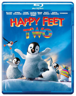 Happy Feet Two on Blu-Ray Blaze DVDs