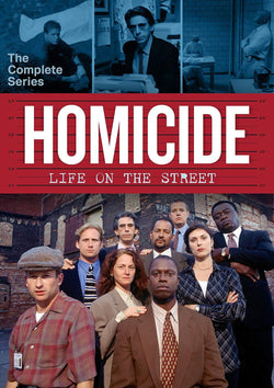 Homicide Complete Series on DVD Shout! Factory DVDs & Blu-ray Discs
