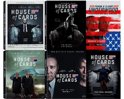 House of Cards TV Series Seasons 1-6 DVD Set Sony DVDs & Blu-ray Discs > DVDs