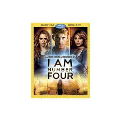 I Am Number Four on Blu-Ray/DVD/Digital Copy Blaze DVDs DVDs & Blu-ray Discs > Blu-ray Discs