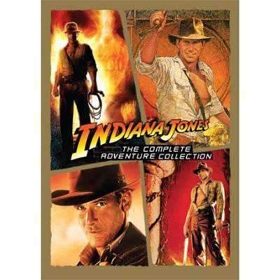 Indiana Jones DVD Complete Series Collection Paramount Home Entertainment DVDs & Blu-ray Discs
