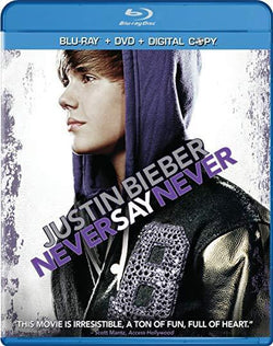 Justin Bieber: Never Say Never on Blu-Ray Paramount Home Entertainment DVDs & Blu-ray Discs > Blu-ray Discs