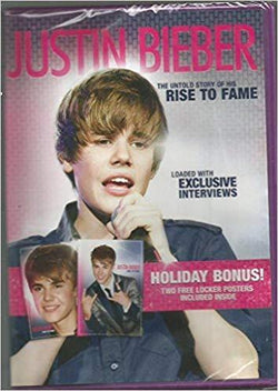 Justin Bieber: The Untold Story of His Rise to Fame (Loaded with Exclusive Interviews) (DVD Video) Blaze DVDs DVDs & Blu-ray Discs > DVDs