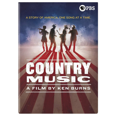 Ken Burns Country Music DVD Set PBS DVDs & Blu-ray Discs