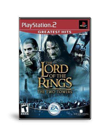 Lord of the Rings The Two Towers - PlayStation 2 Blaze DVDs