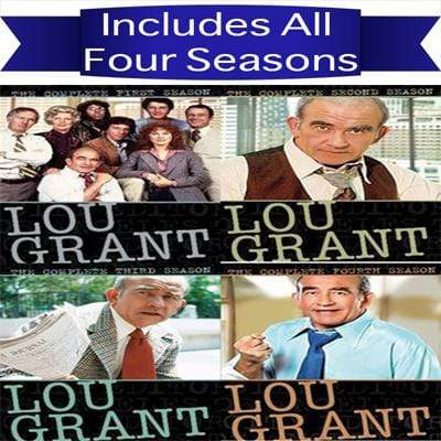 Lou Grant DVD Seasons 1-4 Set Shout! Factory DVDs & Blu-ray Discs > DVDs