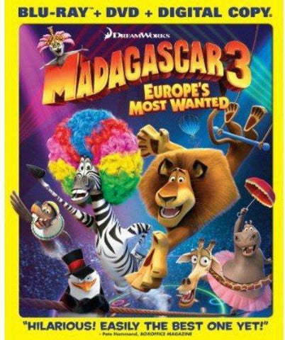 Madagascar 3: Europe's Most Wanted on Blu-Ray Blaze DVDs