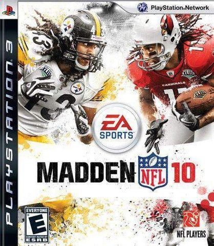 Madden 10 for Playstation 3 Playstation Playstation 3 Game