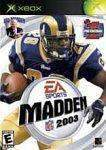 Madden 2003 for Xbox Microsoft Xbox Game