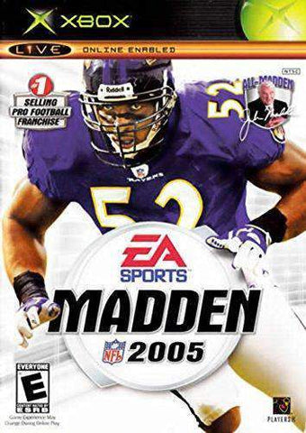 Madden 2005 for Xbox Microsoft Xbox Game