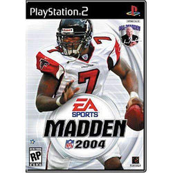 Madden NFL 2004 for Playstation 2 Playstation Playstation 2 Game