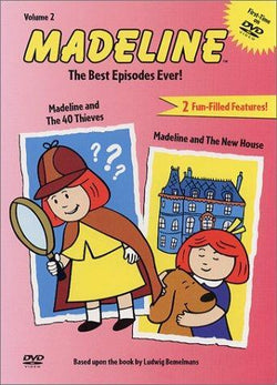 Madeline - Volume 2: Madeline and the 40 Thieves / Madeline and the New House Blaze DVDs DVDs & Blu-ray Discs > DVDs