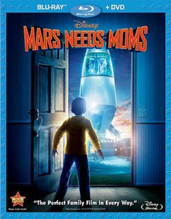 Mars Needs Moms on Blu-Ray/DVD Blaze DVDs DVDs & Blu-ray Discs > Blu-ray Discs