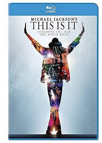 Michael Jackson: This Is It on Blu-Ray Blaze DVDs DVDs & Blu-ray Discs > Blu-ray Discs