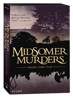 Midsomer Murders The County Case Files Acorn Media DVDs & Blu-ray Discs