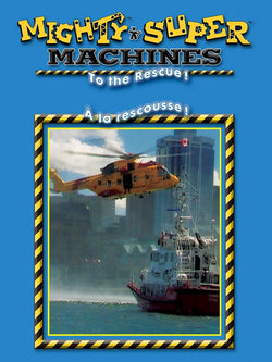Mighty Super Machines to the Rescue DVD Blaze DVDs