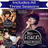 Miss Fisher's Murder Mysteries DVD Series 1-3 Set Acorn Media DVDs & Blu-ray Discs > DVDs