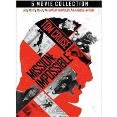 Mission Impossible DVD 5-Movie Collection Set Paramount Home Entertainment DVDs & Blu-ray Discs > DVDs > Box Sets