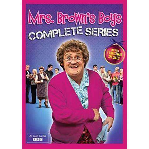 Mrs. Brown's Boys DVD Complete Series Box Set Universal Studios DVDs & Blu-ray Discs > DVDs > Box Sets